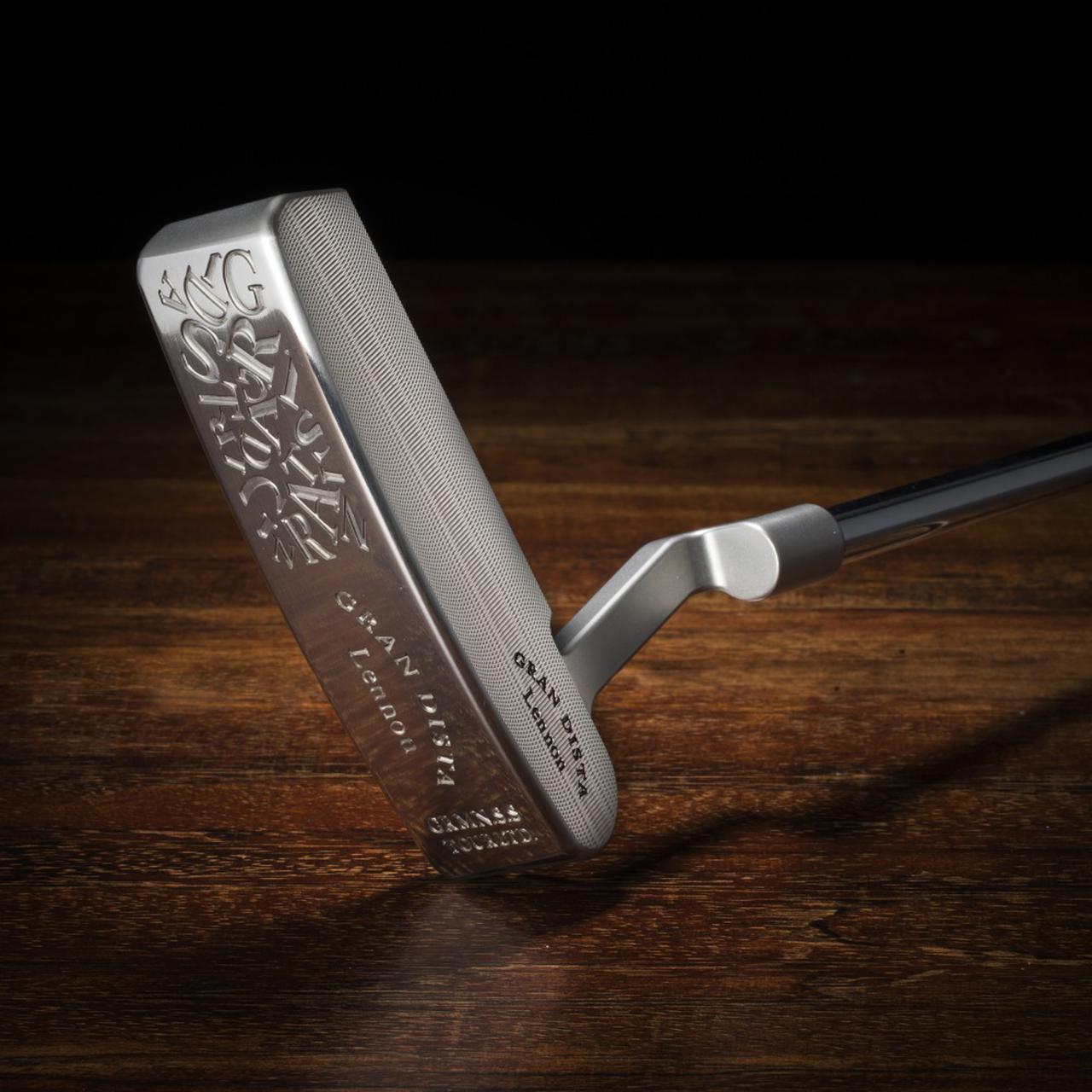 画像1: ジャーマンステンレススチール製「グランディスタ レノン パター」最高の打感。最高の音。 ゴルフダイジェスト公式通販サイト「ゴルフポケット」