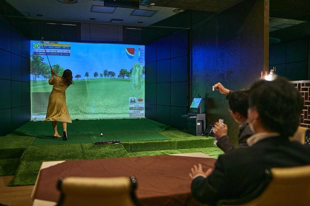 画像: シュミレーションゴルフ