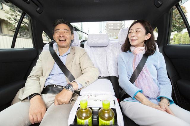 画像3: ゴルタクゴルフツアー タクシー送迎の様子