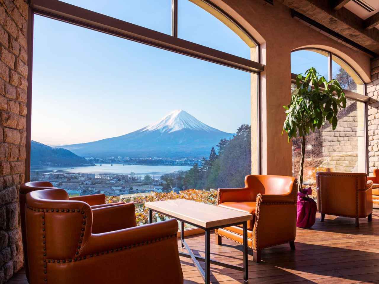 画像: LA VISTA 富士河口湖 テラス