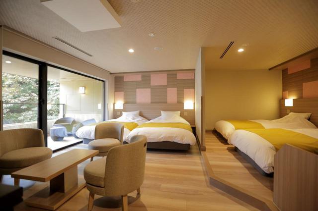 画像: 客室例 4ベッド客室