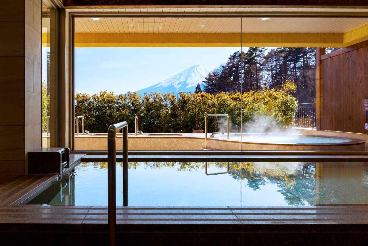 画像: LA VISTA 富士河口湖 大浴場 女湯