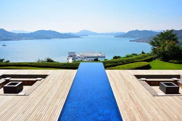画像: 絶景の瀬戸内海を一望