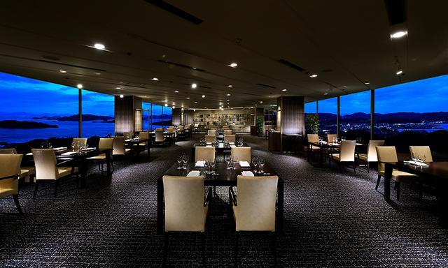 画像: ホテル最上階のレストラン&バー ポールブラン