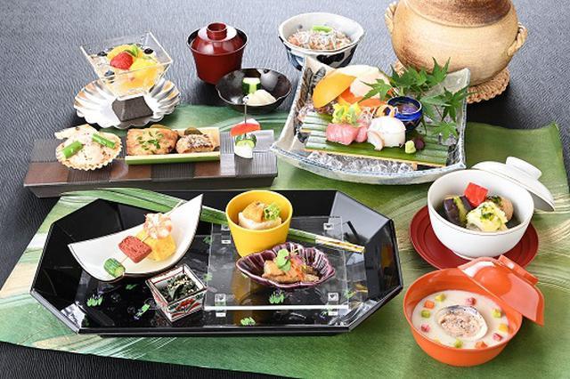 画像: 広島なだ万 懐石花コース一例 (季節により内容が変わります)