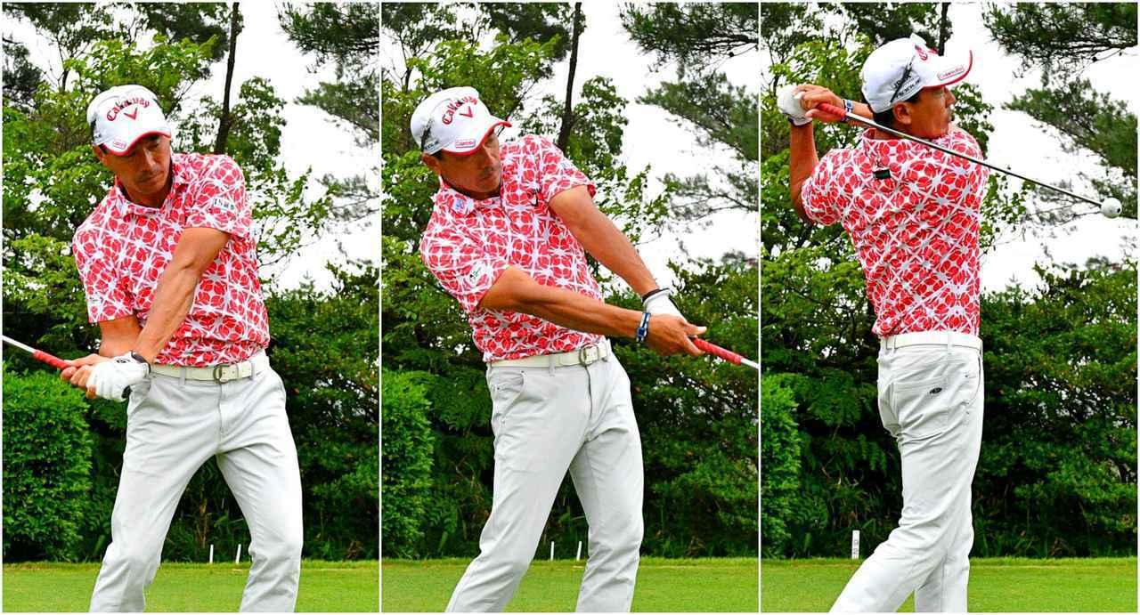 画像: 【飛ばし】ドラコン王・南出仁寛が毎日やる「重い&軽い」素振り5回! ヘッドスピードUPの秘訣は「ウソみたいなカンタン練習だった」 - ゴルフへ行こうWEB by ゴルフダイジェスト