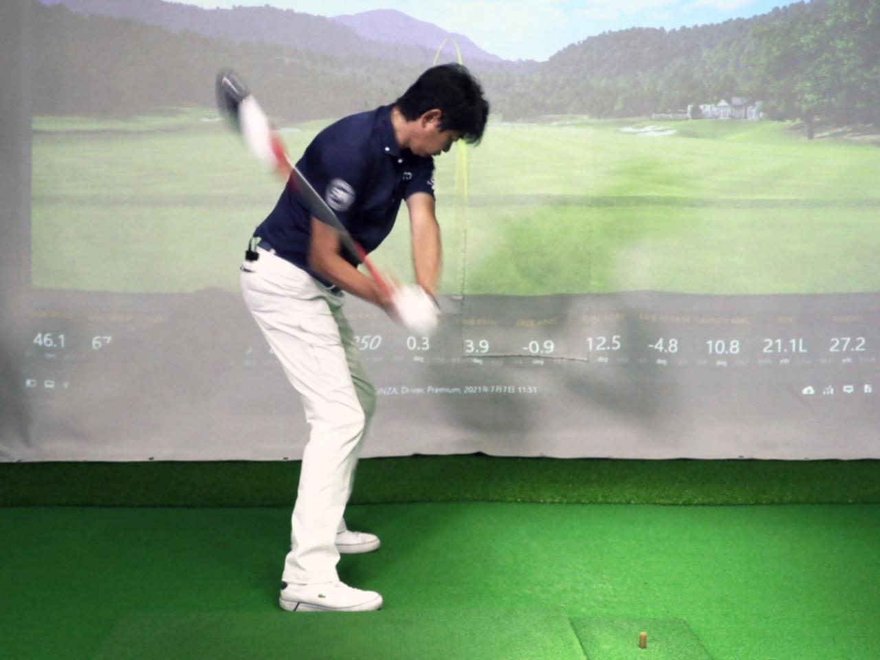 画像: みんなのゴルフダイジェスト・中村修プロが試し振り