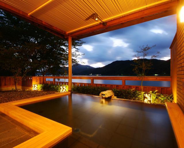 画像: 円山川温泉 銀花 大浴場「みなもの湯」
