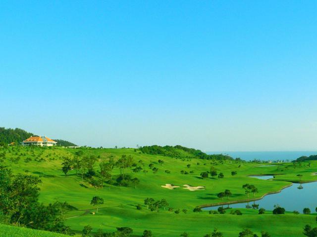 画像: ゴルフオプション「青島ゴルフ倶楽部」