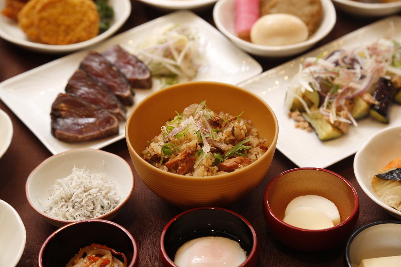 画像: ドーミーイン高知 朝食は高知で味わいたい名物をそろえています(イメージ)