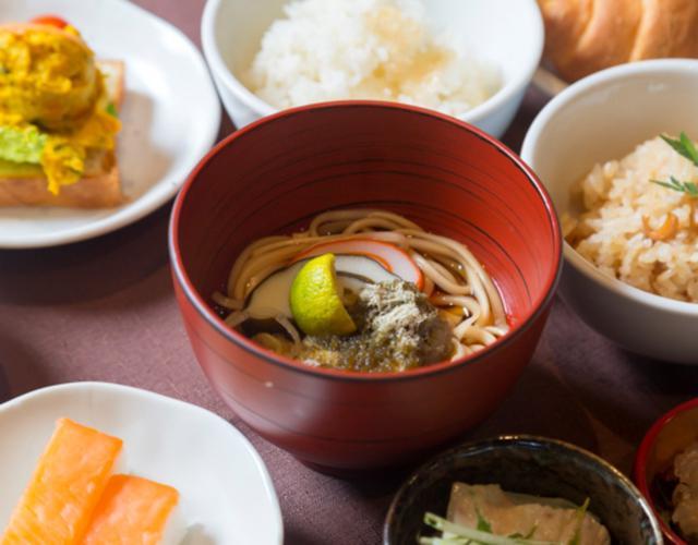 画像: 富山の恵みたっぷりのドーミーン富山の和洋朝食バイキング
