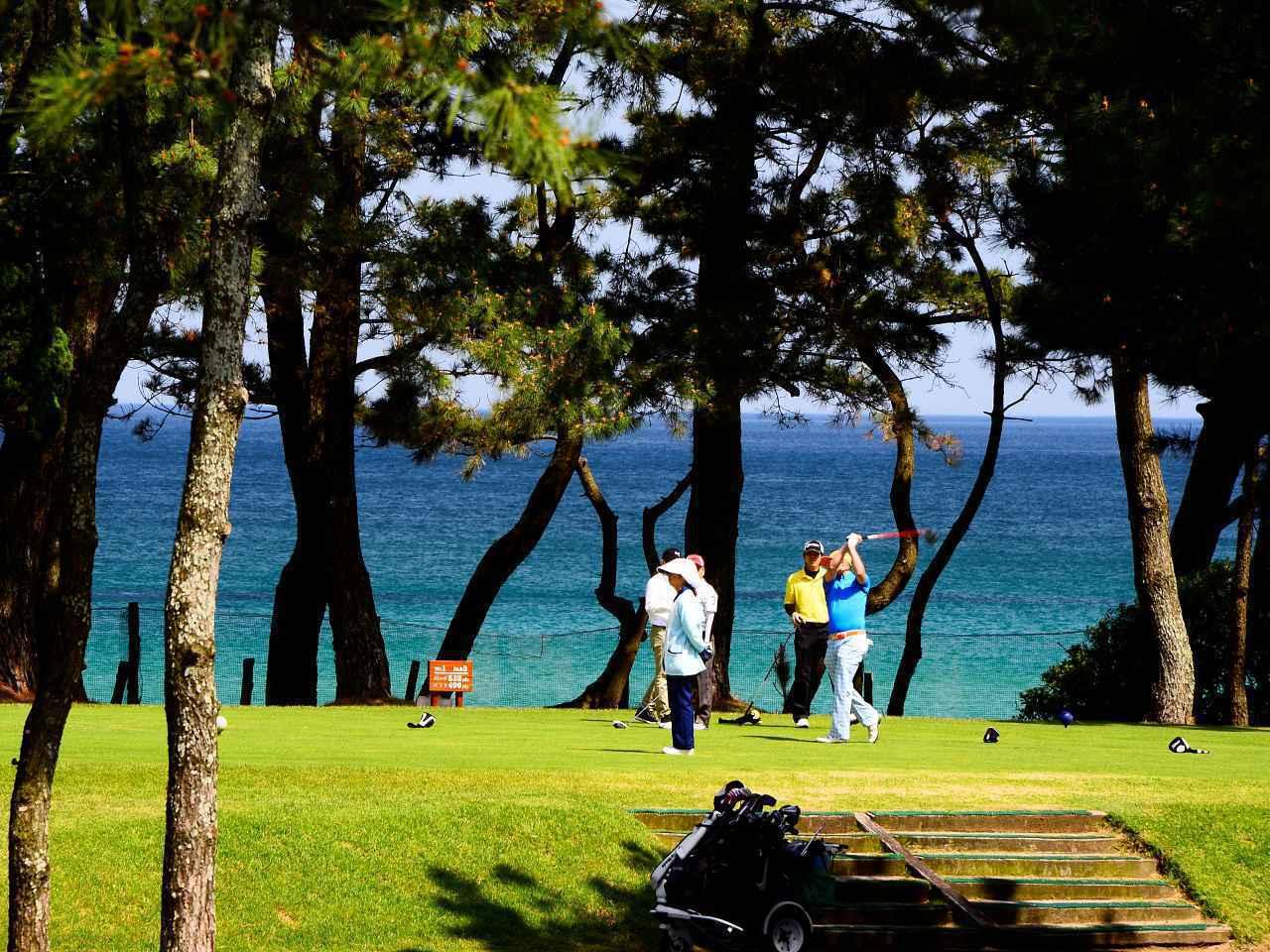 画像: 下関ゴルフ倶楽部 海沿いの絶景