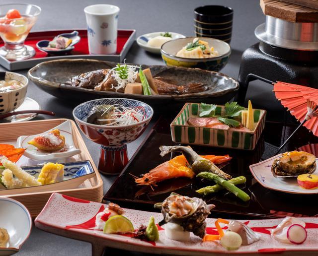 画像: 夕食は琴平ならではの旬の会席料理(イメージ)