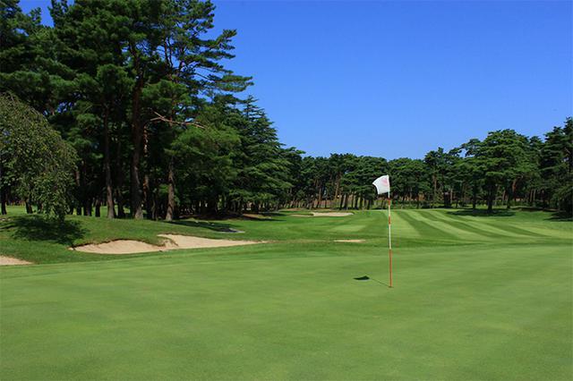 画像: 紫雲ゴルフ倶楽部 加治川コース№9