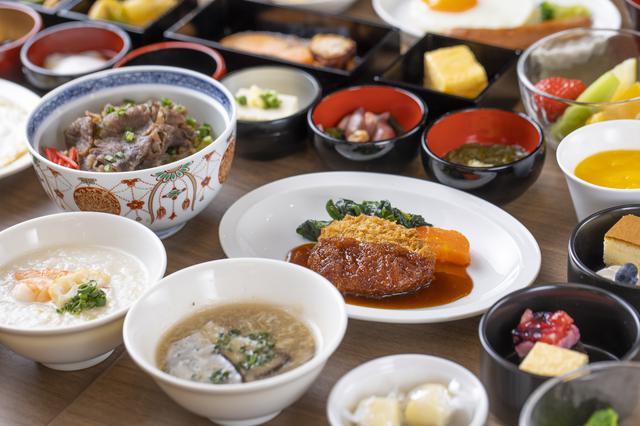 画像: ご当地名物も味わえる和洋セミバイキング(朝食イメージ)