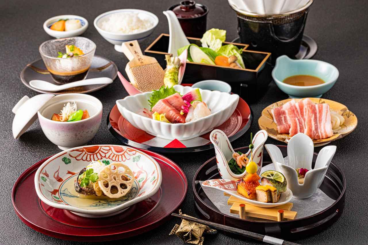 画像: 夕食(会席料理)イメージ