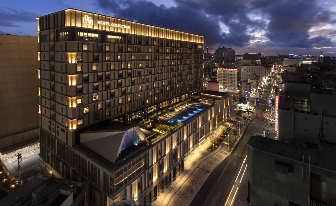 画像: ホテルコレクティブ夜の外観