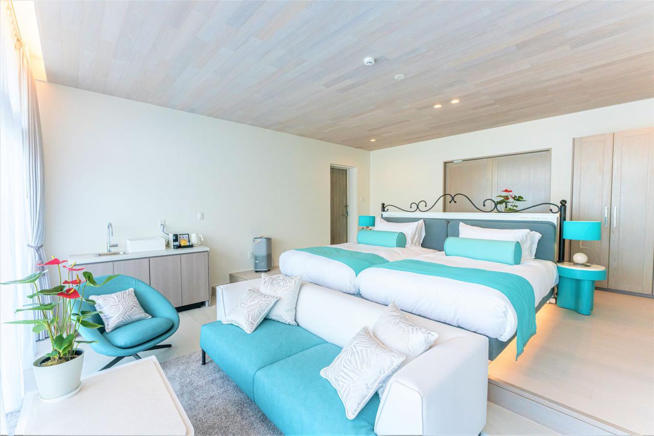 画像: ブルーオーシャン ホテル&リゾート宮古島 ロイヤルスイートヴィラ1階イメージ