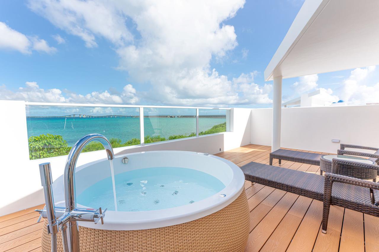画像: ブルーオーシャン ホテル&リゾート宮古島 ロイヤルスイートヴィラ2階イメージ
