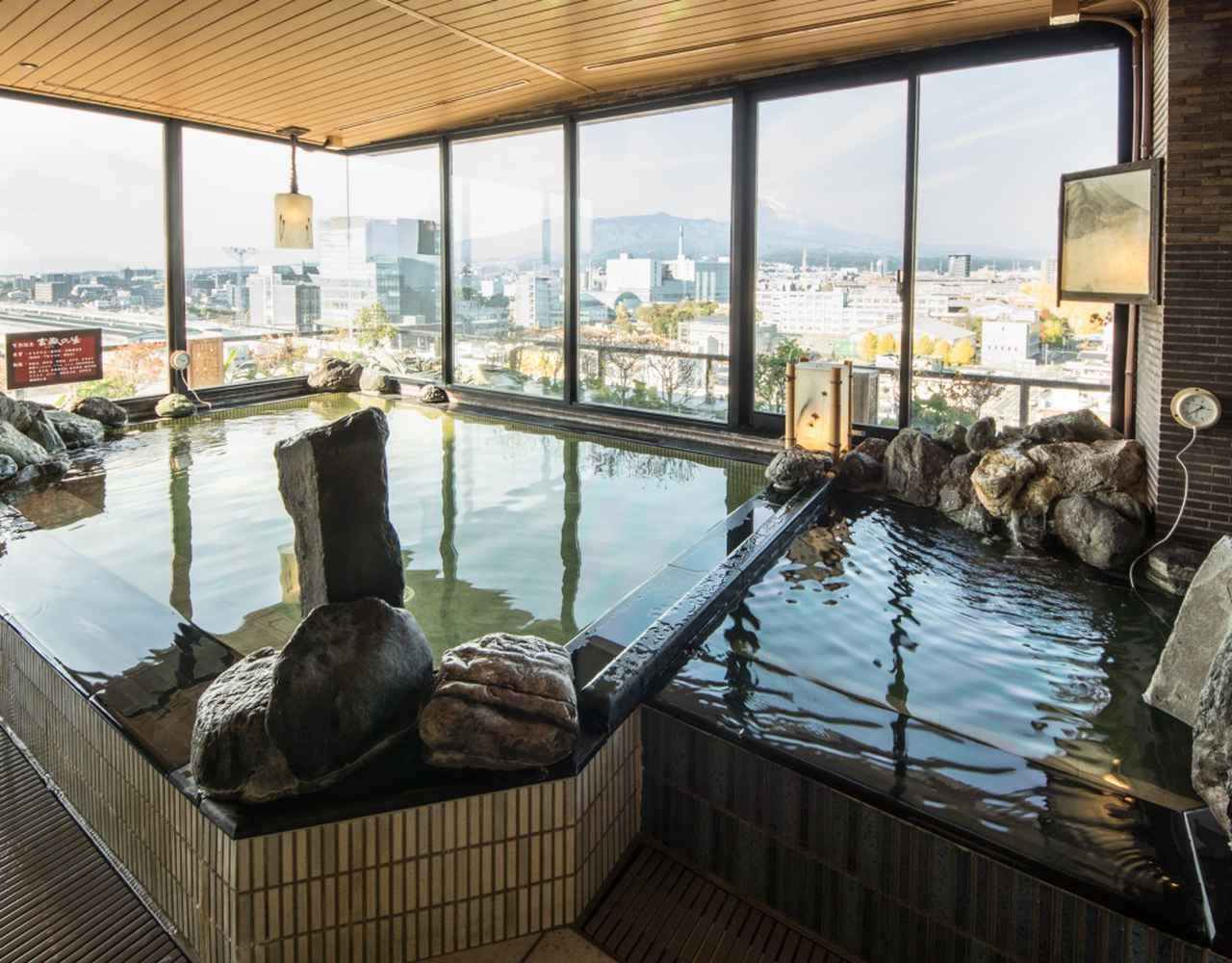 画像: 【天然温泉 富嶽の湯 ドーミーイン三島】最上階天然温泉