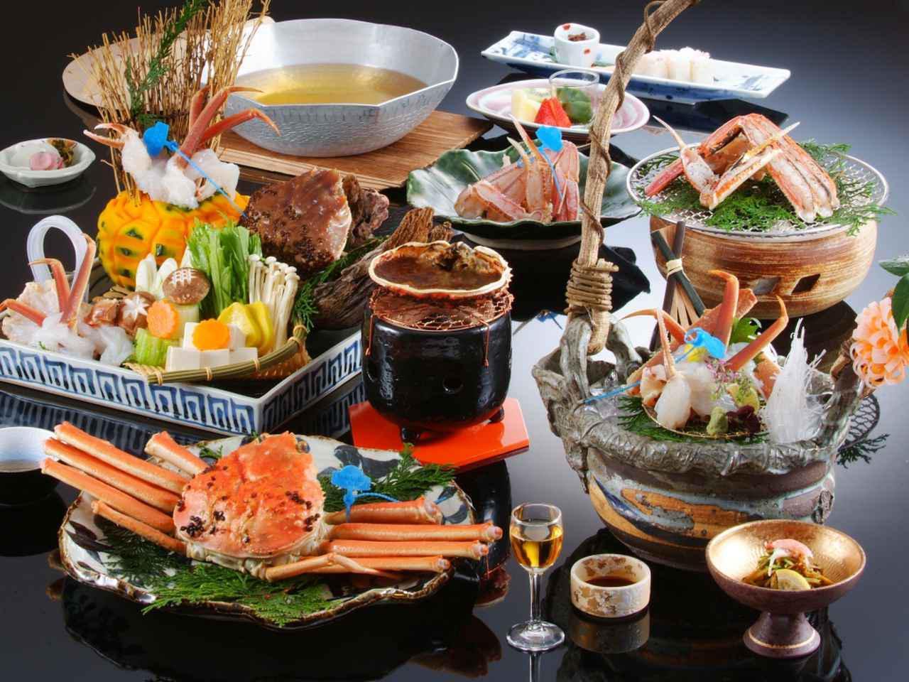画像: 【城崎 円山川温泉 銀花】冬は松葉ガニ。夏は但馬牛。旬を堪能する創作懐石は、圧巻の美味。