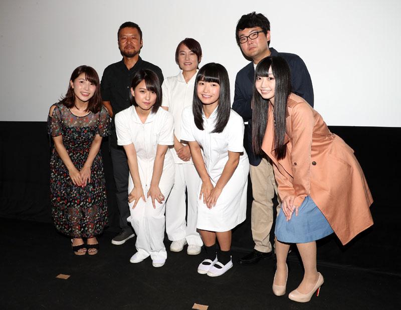 画像 : 1番目の画像 - 「山田菜々美(AKB48)、百川晴香/映画『黒看』のプレミア上映会開催。「スクリーンに自分が映っているのは不思議な気持ちですけど、たくさんの方が来てくださって幸せです」」のアルバム - Stereo Sound ONLINE