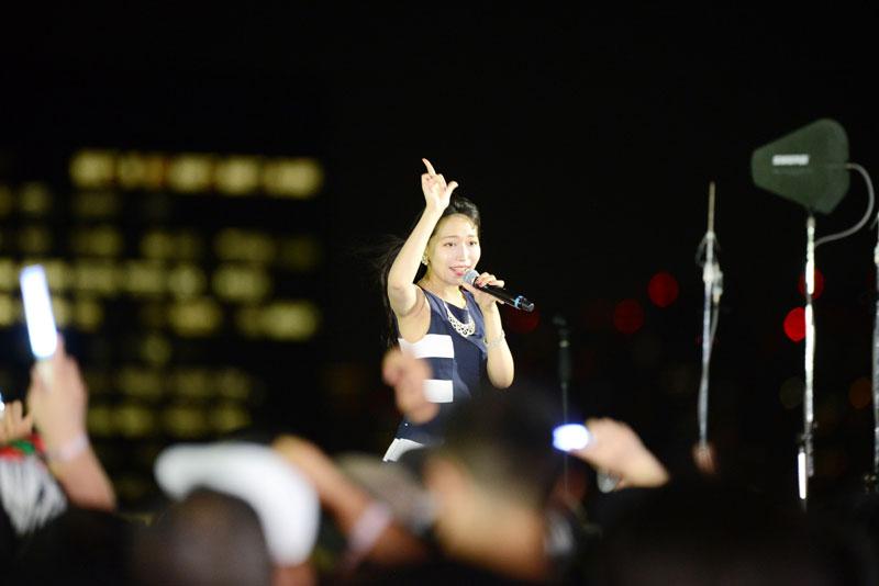 Images : 13番目の画像 - 「WHY@DOLL/東京は夜の7時20分! 見せて聴かせる実力派デュオが、TIF2018「SKY STAGE」をアーバン&メロウに染める」のアルバム - Stereo Sound ONLINE