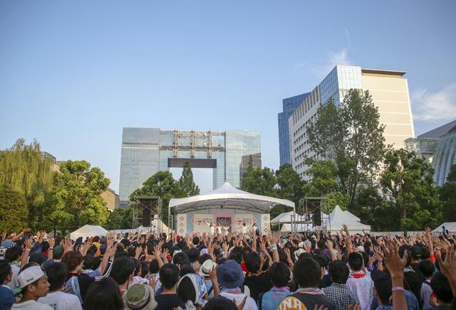画像: スマイルガーデンの様子 (C)TOKYO IDOL FESTIVAL 2018