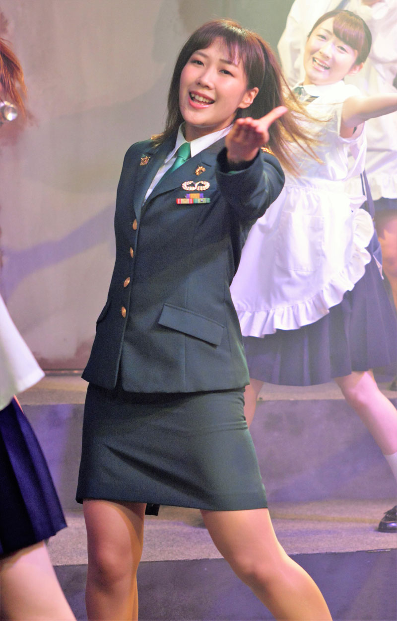 "Images : 2番目の画像 - 「長橋有沙/「アリスインデッドリースクール 楽園」で自衛官役を好演。""安心感を与える大人の女性を念頭に演じています""」のアルバム - Stereo Sound ONLINE"