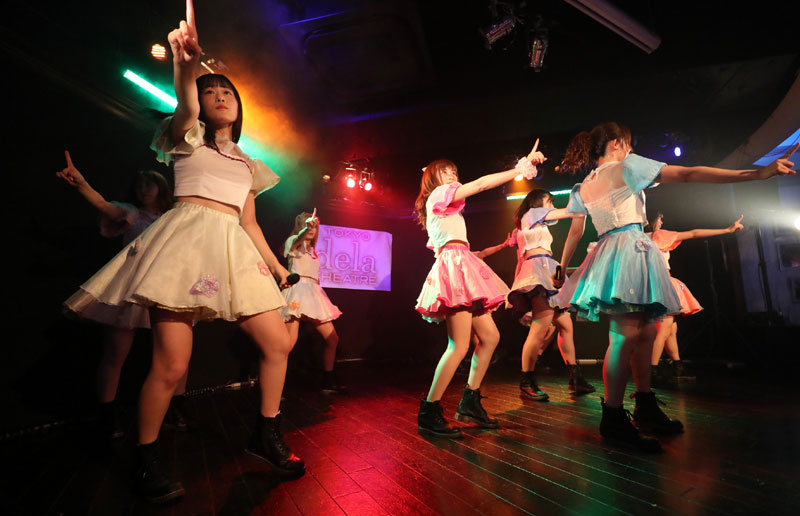 Images : 12番目の画像 - 「dela/ミスマガジングランプリ受賞者・沢口愛華を含む名古屋の人気アイドル・グループが、定例東京公演を開催。切れ味鋭いダンス、多彩な楽曲でファンを魅了」のアルバム - Stereo Sound ONLINE