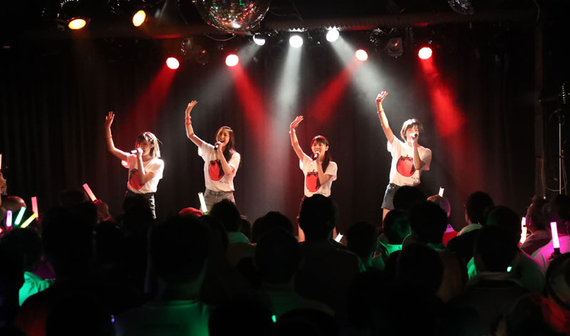 Images : 9番目の画像 - 「りんご娘/青森県を拠点に活動する要注目グループが、初の東京ワンマンを盛大に開催。ハイレベルな楽曲と笑顔満載のパフォーマンスで、超満員のオーディエンスを魅了」のアルバム - Stereo Sound ONLINE