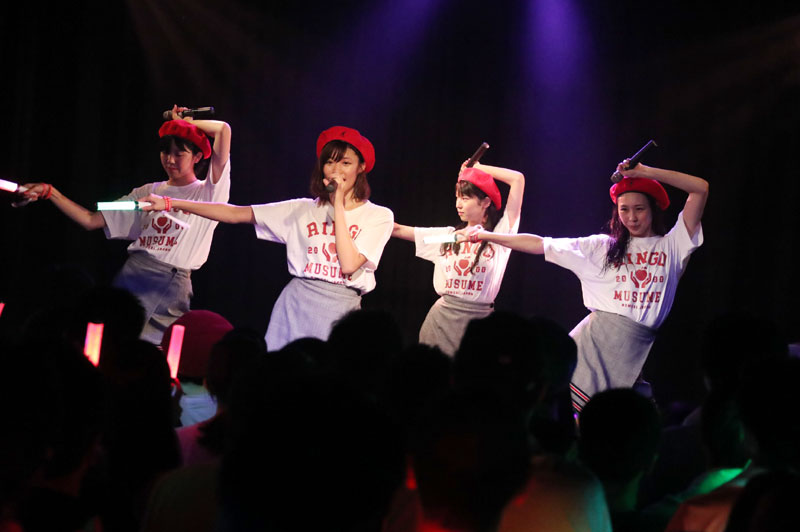 Images : 47番目の画像 - 「りんご娘/青森県を拠点に活動する要注目グループが、初の東京ワンマンを盛大に開催。ハイレベルな楽曲と笑顔満載のパフォーマンスで、超満員のオーディエンスを魅了」のアルバム - Stereo Sound ONLINE