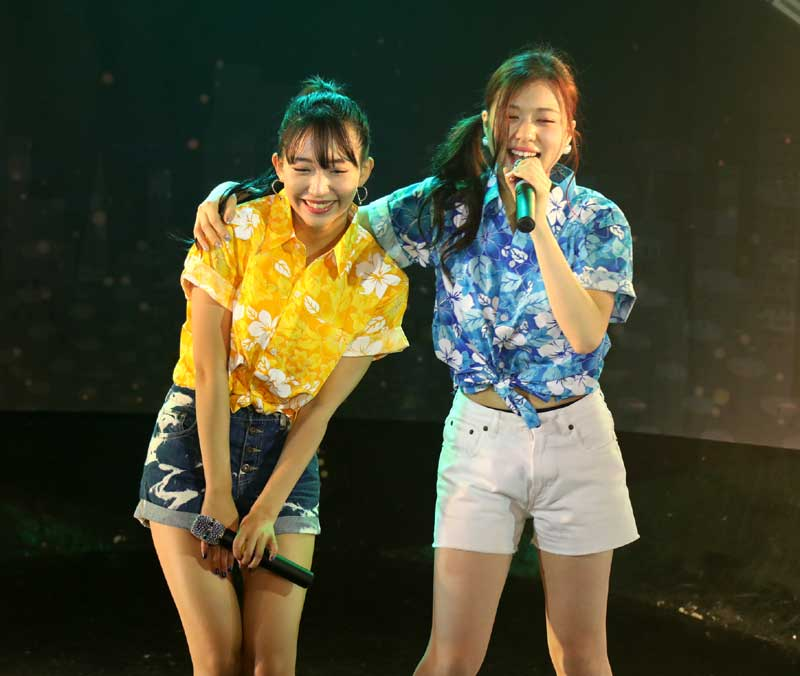 Images : 21番目の画像 - 「WHY@DOLL/渋谷を真夏に変える灼熱ライブを開催。アロハ×夏曲×ほわどる=極上の空間を創造」のアルバム - Stereo Sound ONLINE