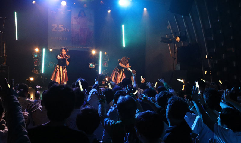 Images : 19番目の画像 - 「WHY@DOLL/青木千春が誕生日当日に、2部制の生誕ライヴを開催(第1部レポート)」のアルバム - Stereo Sound ONLINE
