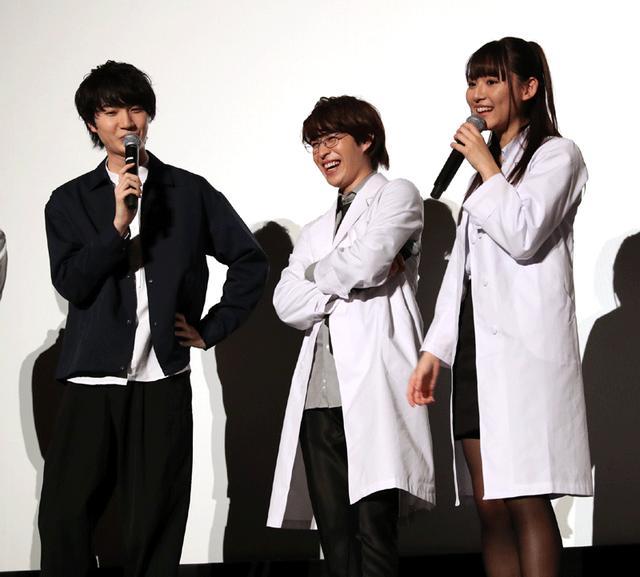 画像4: 映画「リケ恋~」の完成披露上映会が開催。W主演の浅川梨奈&西銘駿は、劇中とは正反対の雰囲気で、浅川のツッコミに、西銘はタジタジ