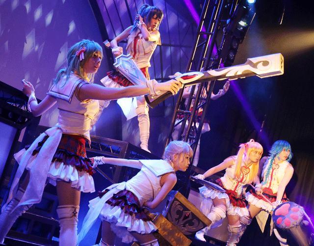 画像3: 舞川みやこ、雛形羽衣/「舞台プロジェクト東京ドールズ」で見事な殺陣とダンスと芝居を披露