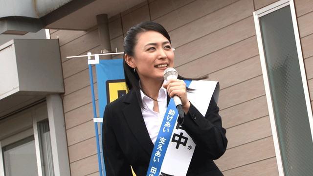 画像4: 川村ゆきえ/主演作「美しすぎる議員」、3/16より公開。「自分の信念にまっすぐ生きる愛ちゃんを演じきりました」