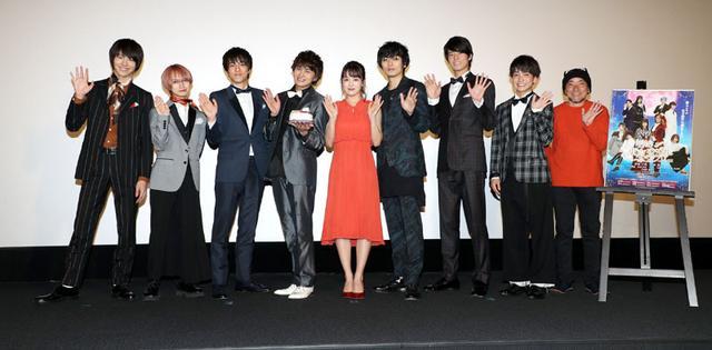 画像1: 伊原六花/初主演ドラマ「明治東京恋伽」の完成披露開催。「原作の世界観をそのまま映像化しています、たくさんの方に愛してほしい」