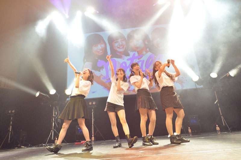 画像3: notall/渡邊ちこ、感動のラストステージ。新体制notallは4月20日に渋谷でワンマン開催、新プロジェクト「notall REVOLUTION 100」開始