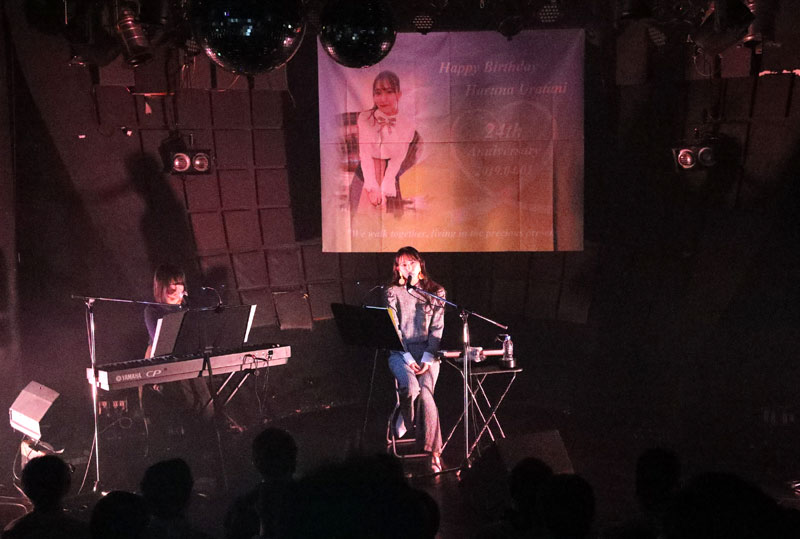 Images : 4番目の画像 - 「WHY@DOLL/浦谷はるなが誕生日当日にバースデーライヴを開催。ピアノだけをバックに、ヴォーカリストしての進境を示す」のアルバム - Stereo Sound ONLINE