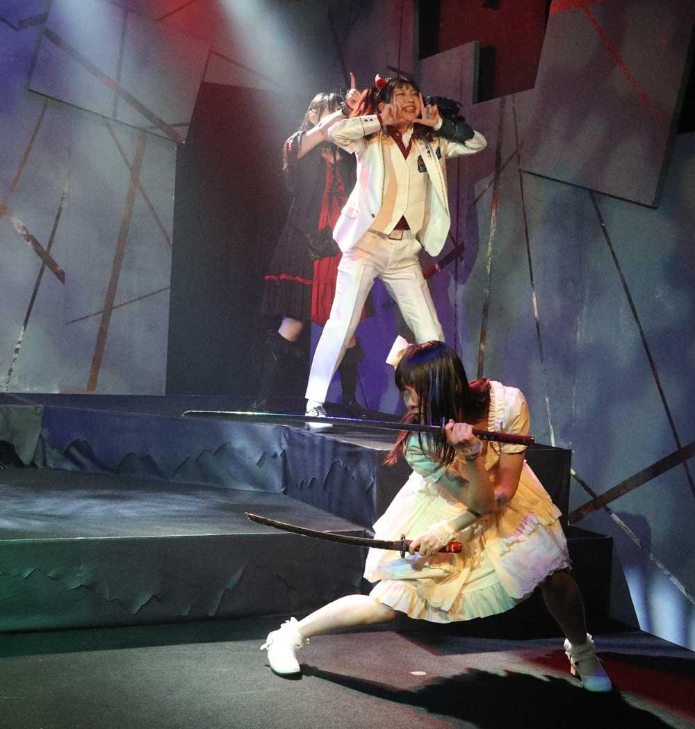 Images : 23番目の画像 - 「若林倫香、水城夢子/アリスインプロジェクト最新舞台「降臨Hearts&Soul」、いよいよ池袋に降臨! 熱く、激しく、昂る魂の咆哮の饗宴」のアルバム - Stereo Sound ONLINE