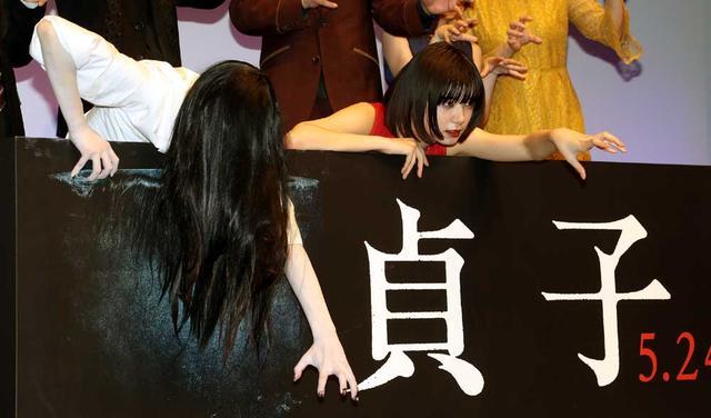画像4: 池田エライザ/5月24日公開の映画『貞子』の完成披露試写イベントに登場。「ただ怖い映画というわけでなくて、一味違う幽霊模様というか、人間模様が描かれています」