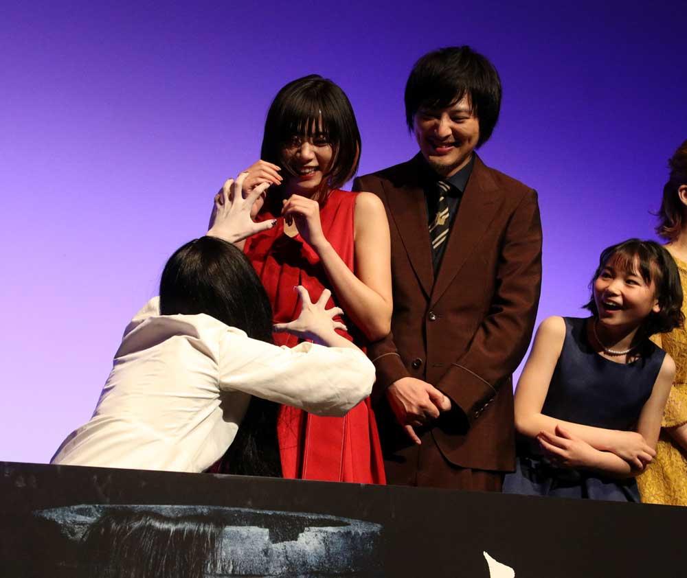 画像3: 池田エライザ/5月24日公開の映画『貞子』の完成披露試写イベントに登場。「ただ怖い映画というわけでなくて、一味違う幽霊模様というか、人間模様が描かれています」