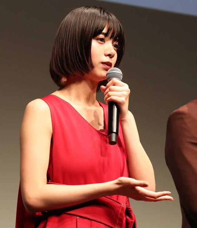 画像1: 池田エライザ/5月24日公開の映画『貞子』の完成披露試写イベントに登場。「ただ怖い映画というわけでなくて、一味違う幽霊模様というか、人間模様が描かれています」