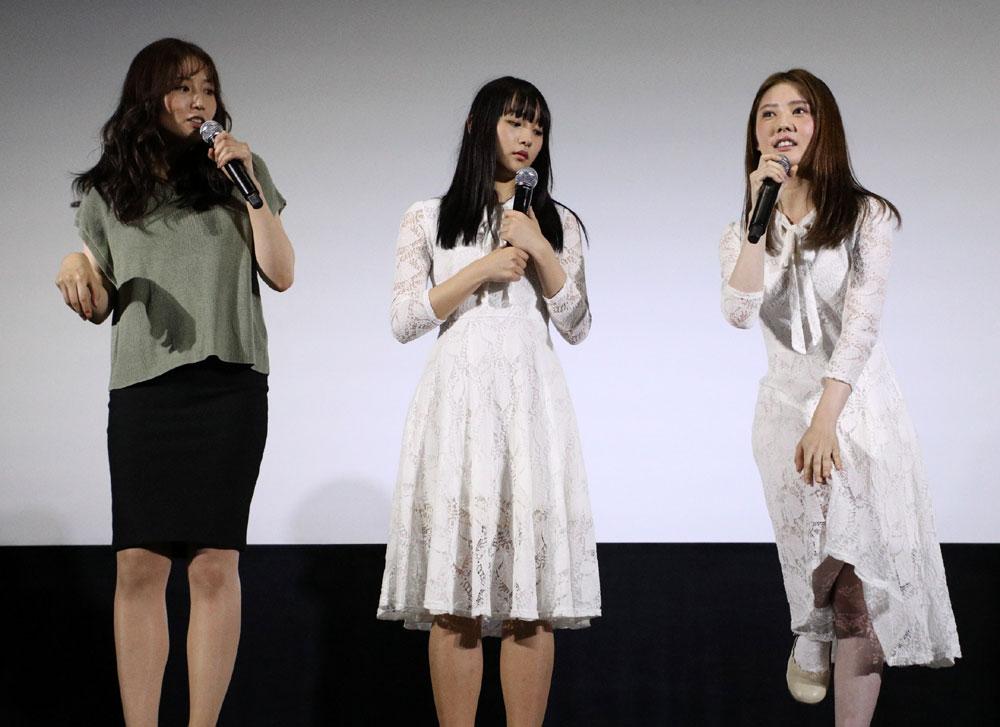 画像6: 浅川梨奈、北香那/映画「黒い乙女Q」公開記念、乙女が勢ぞろいの賑やかな舞台挨拶が開催。一番の恐怖は「映画の製作スケジュールです」(浅川)