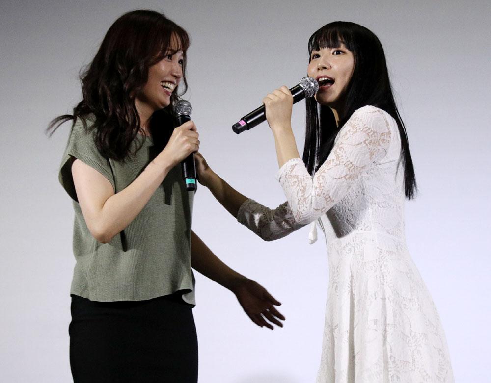 画像5: 浅川梨奈、北香那/映画「黒い乙女Q」公開記念、乙女が勢ぞろいの賑やかな舞台挨拶が開催。一番の恐怖は「映画の製作スケジュールです」(浅川)