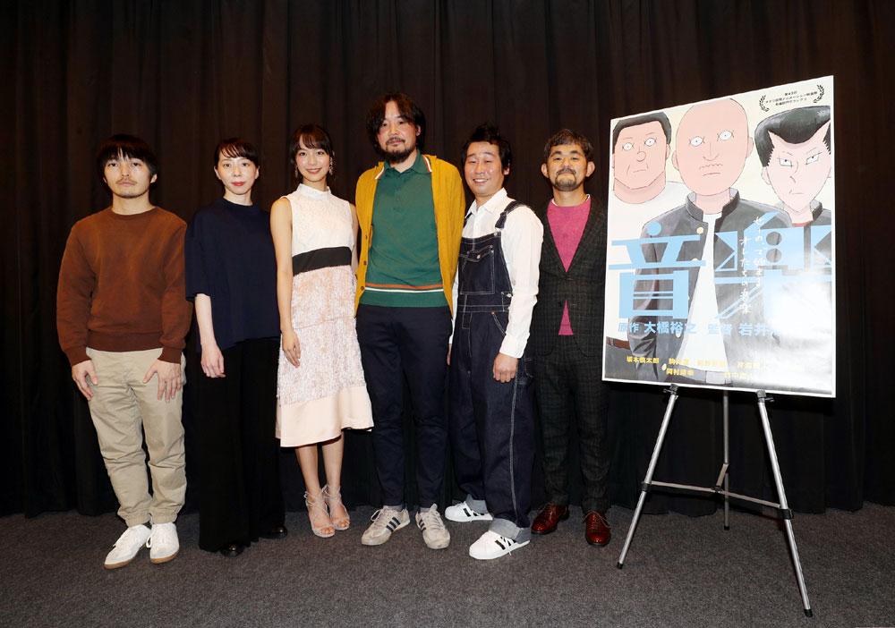 画像1: 楽器経験のない不良たちがバンドを始める……。岩井澤健治監督が7年をかけて作り上げた手描きアニメ映画「音楽」が待望の公開!