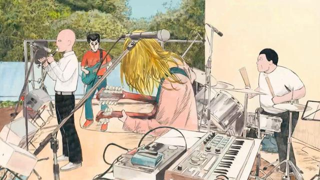 画像4: 楽器経験のない不良たちがバンドを始める……。岩井澤健治監督が7年をかけて作り上げた手描きアニメ映画「音楽」が待望の公開!