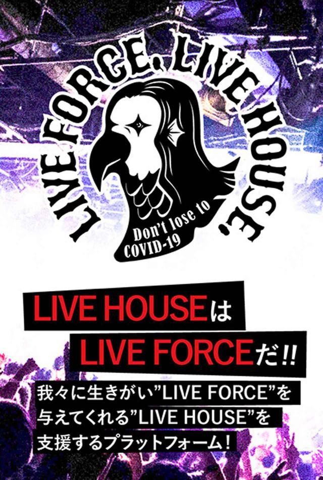 画像1: タワーレコード、ライブハウス支援プロジェクト「LIVE FORCE, LIVE HOUSE.」を始動