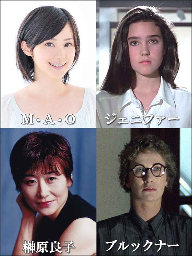 画像1: 美少女ホラーの金字塔『フェノミナ』の吹替えメインキャスト役声優が決定。ジェニファー・コネリーにM・A・O、ダリア・ニコロディに榊原良子